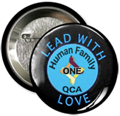 One Human Family QCA Lead with Love Button